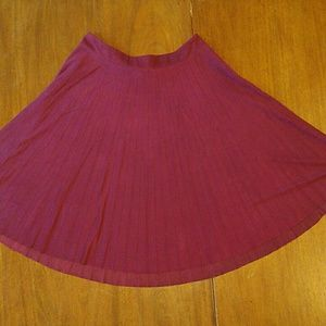 Liz Claiborne Pleated A-line Skirt